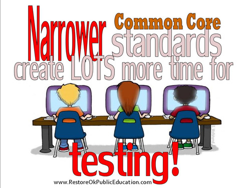 narrow+standards+more+testing